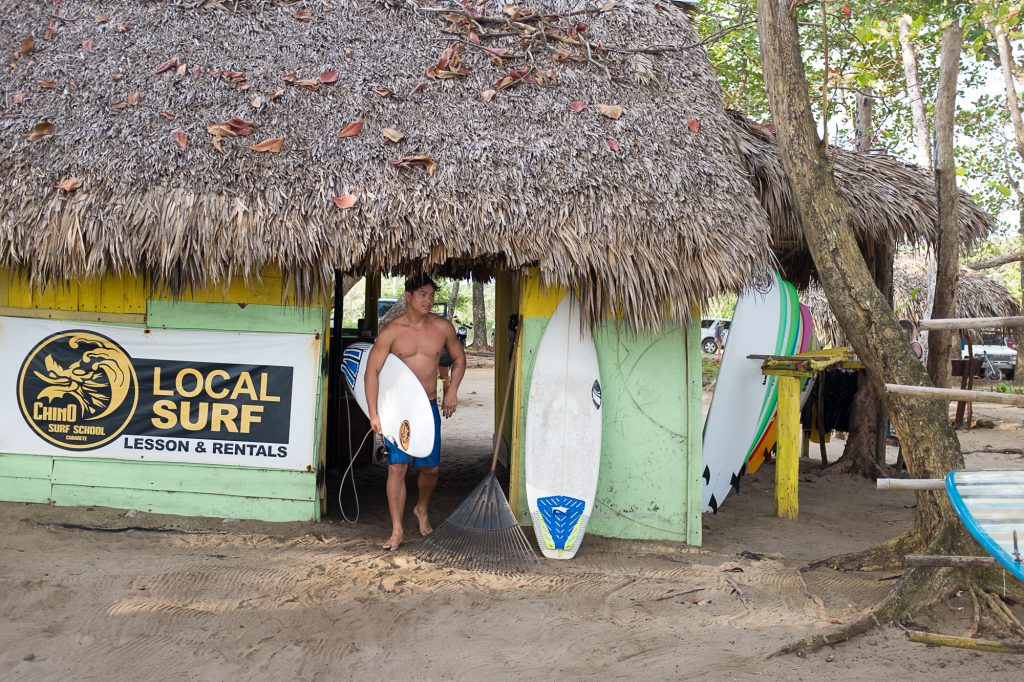Chino surf school dominican republic