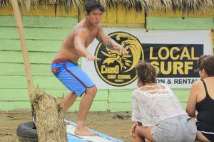 chino surf instructor dominican republic encuentro beach