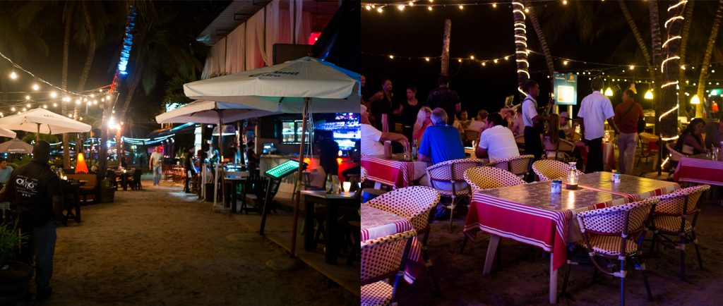 nightlife and dining in cabarete