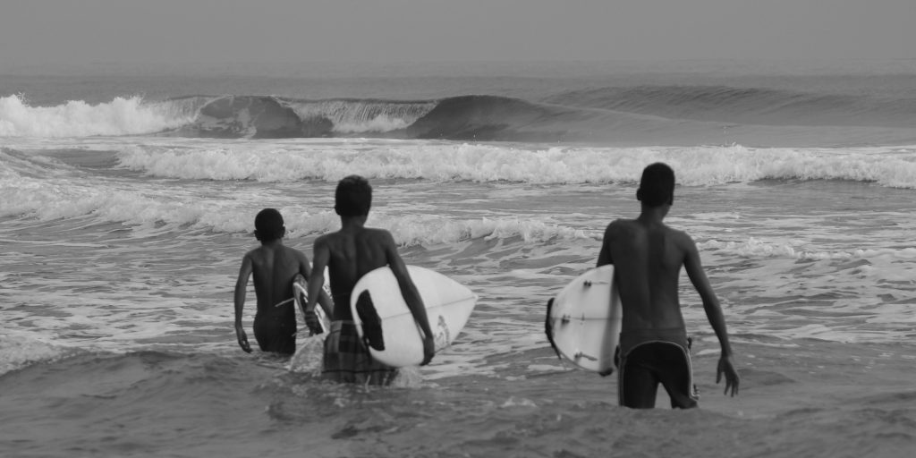 Dominican Republic Surfers