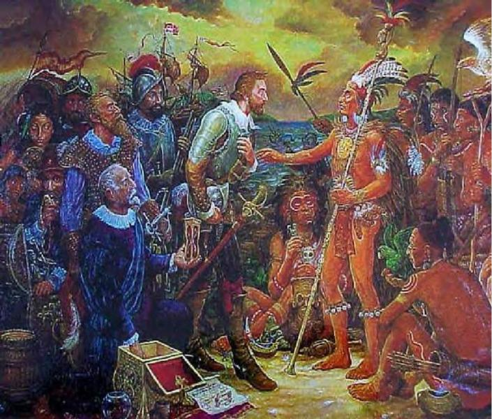 the taino people and columbus