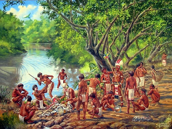 taino people dominican republic