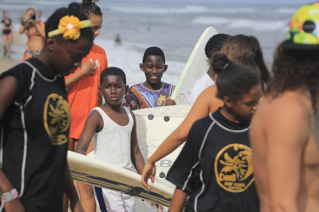 local surfers cabarete