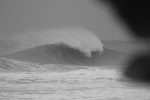 hurricane irma waves dominican republic